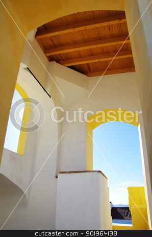Castle tower in Moura, Portugal stock photo, Castle tower in Moura, Portugal by Inacio Pires