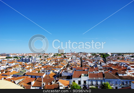 Moura, city in south of Portugal stock photo, Moura, city in south of Portugal by Inacio Pires