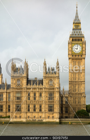 Big Ben Elizabeth tower Houses of Parliament London. stock photo, Big Ben Elizabeth tower Houses of Parliament London. by Stephen Rees