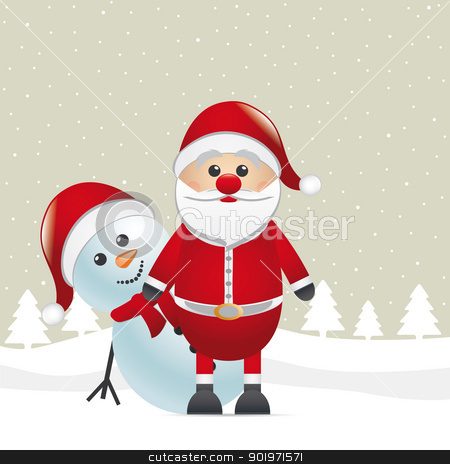 reindeer red nose look santa claus stock photo, rudolph reindeer red nose look santa claus by d3images