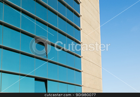 Architecture background stock photo, Detail of a modern office facade by carloscastilla