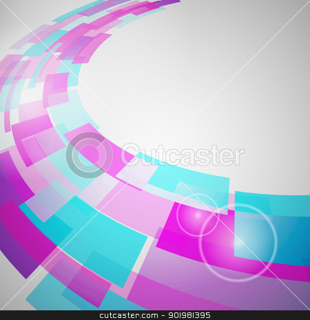 Abstract Background stock photo, Abstract Background of geometric elements. Vector illustration. by Kotkoa
