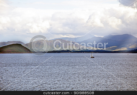 Scotland - Isle of Mull stock photo, The Isle of Mull seen from the approach from Oban by SRSImages