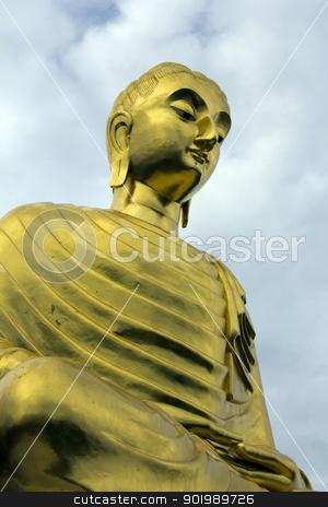 Buddha Statue, Thailand stock photo, Buddha Statue, Thailand by Kevin Hellon