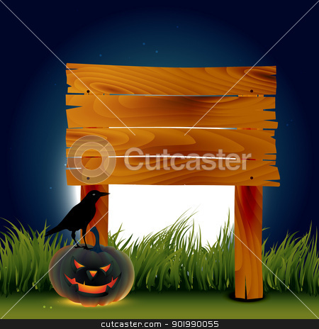 halloween pumpkin stock vector clipart, vector evil halloween pumpkin design art by pinnacleanimates