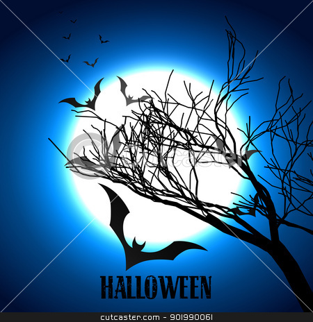 scary halloween design stock vector clipart, vector scary halloween design art by pinnacleanimates
