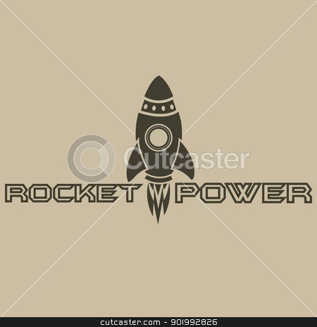 Rocket Power stock photo, Logo Design by NextGenDesigner