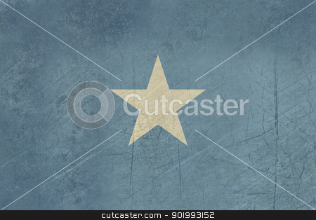 Grunge Somalia Flag stock photo, Grunge sovereign state flag of country of Somalia in official colors. by Martin Crowdy