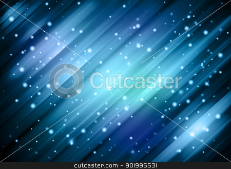 Blue Digital Background stock vector clipart, Blue Digital Background by Seyyah