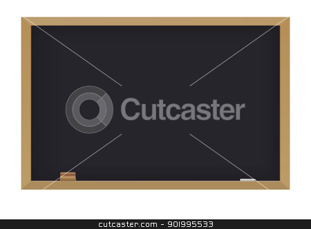 Blackboard stock vector clipart, Blackboard by Seyyah