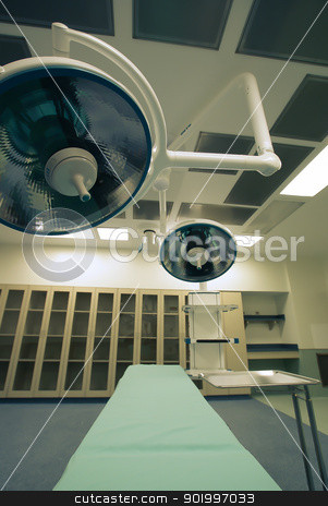 operating room stock photo, Hospital operating room by digidreamgrafix.com