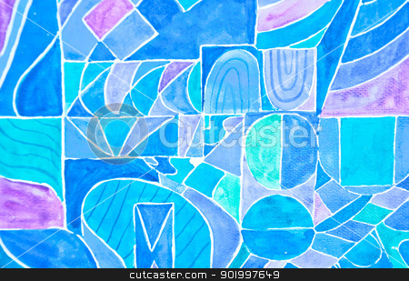 Art work from water color stock photo, water color  art work background by Charoen Dokkularb