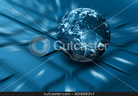 Internet Concept stock photo, Internet Concept - Planet Earth on Keyboard. Elements of this image furnished by NASA. Terms of use: http://visibleearth.nasa.gov/useterms.php by JAMDesign