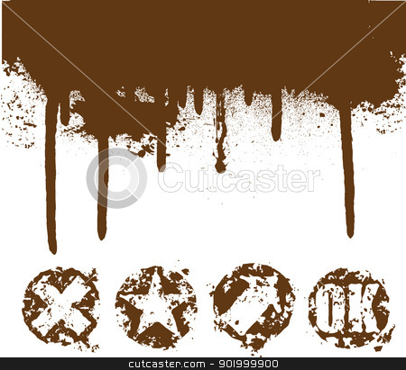 splash stock vector clipart,  by zühal