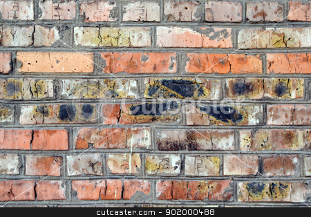 old wall from a red brick. background 1 stock photo, old wall from a red brick. background 1 by Sergii Sukhorukov