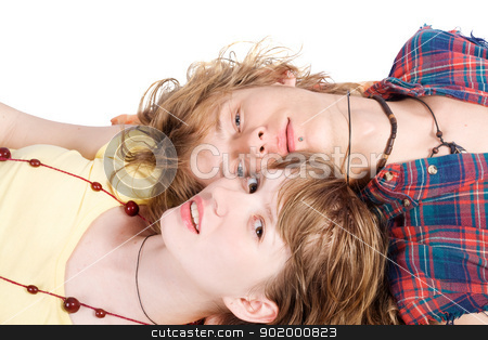 Portrait of smiling young beauty couple 9 stock photo, Portrait of smiling young beauty couple 9 by Sergii Sukhorukov