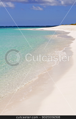 Caribbean beach. stock photo, Fantastic view of a Caribbean beach. by Fernando Barozza