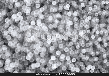 Silver Sparkling Background stock photo, Abstract sparkling silver defocused bokeh background by Stephanie Zieber