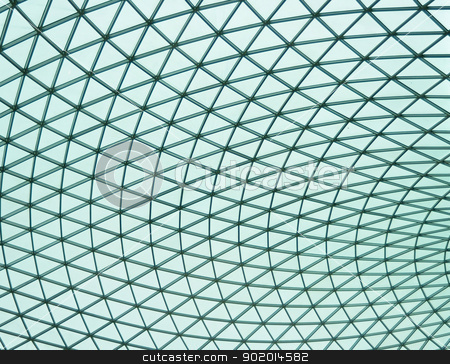 British Museum stock photo, Great Court of British Museum largest covered square in Europe panorama by Tudor Antonel adrian