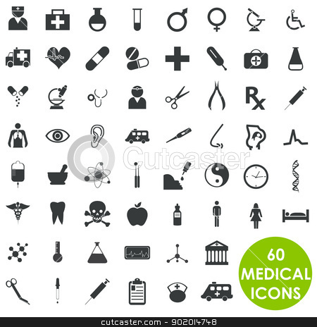 Medicine health care basics series vector stock vector clipart, 60 Medicine health care basics series vector by Etty  Ozer