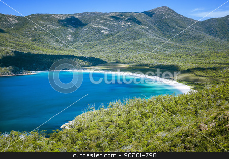 wineglass bay stock photo, An image of the beautiful Wineglass Bay in Australia by Markus Gann