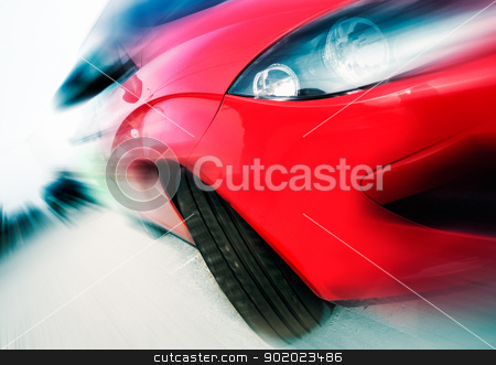 concept car speed stock photo, Abstract image of concept car speed by carloscastilla
