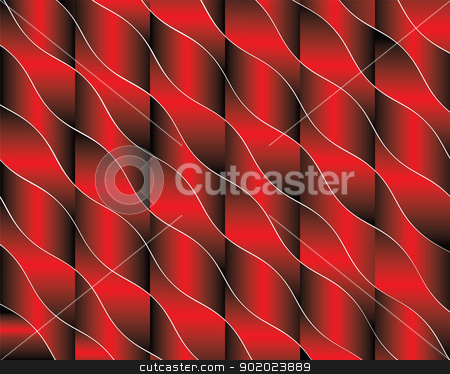 Red background stock vector clipart, The image can be used as a background, wallpaper for your site, design projects, textile goods and other. by Margit777
