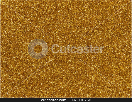 Gold glitter macro texture close up background. stock photo, Gold glitter macro texture close up background. by Stephen Rees