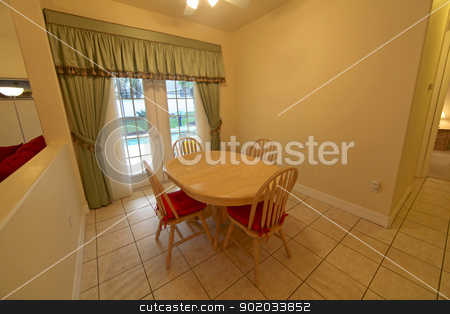 Breakfast Area stock photo, An Interior shot of a Breakfast Area in a Home by Lucy Clark