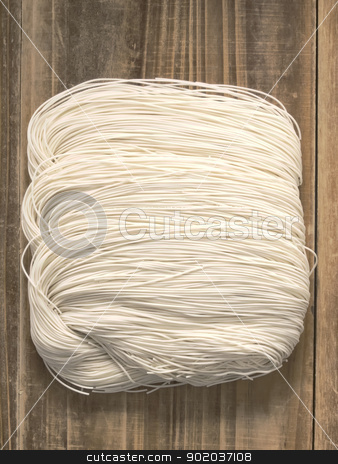 chinese wheat flour noodles stock photo, close up of chinese wheat flour noodles by zkruger