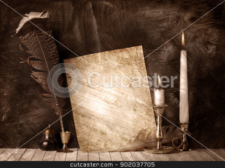Manuscript stock photo, Manuscript by Tornelli Stefano