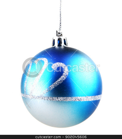 Christmas ball stock photo, Christmas ball. by Nenov Brothers Images