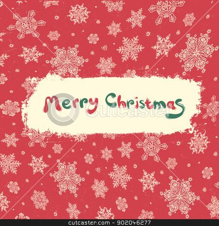 Christmas retro greeting card design. Vector illustration, EPS8 stock photo, Christmas retro greeting card design. Vector illustration, EPS8 by pashabo