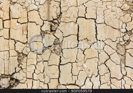  Close up of cracked soil stock photo, Detail close up of cracked soil showing dry conditions by stoonn