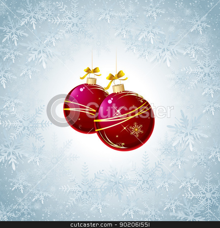 Snowflakes Christmas Background stock vector clipart, This image represents a Snowflakes Christmas Background. / Snowflakes Christmas Background by Bagiuiani Kostas