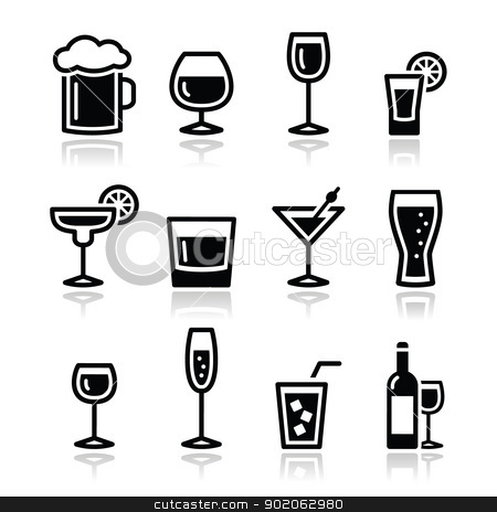 Alcohol Beverage Clipart | Info