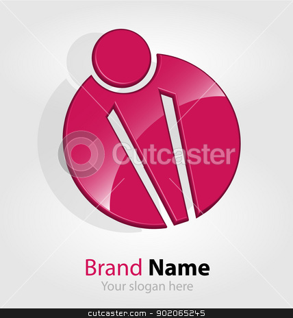 Abstract brand logo/logotype stock vector clipart, Originally designed abstract brand logo/logotype by Vladimir Repka