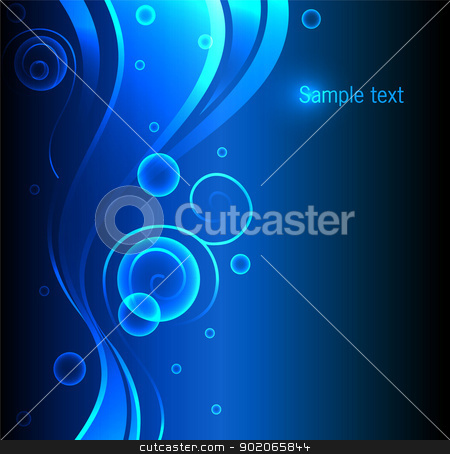 Abstract color glowing background stock vector clipart, Vector illustration of Abstract color glowing background by SonneOn