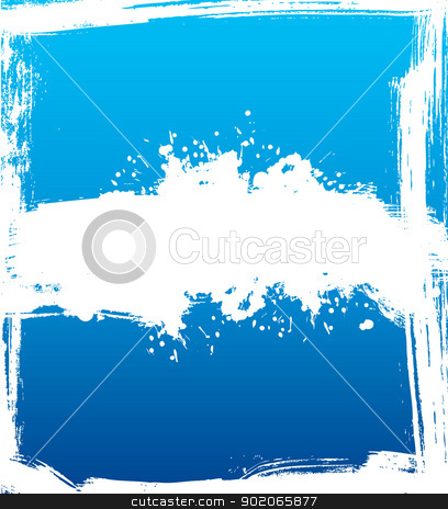 Splash banners stock vector clipart, Vector illustration of Splash banners by SonneOn