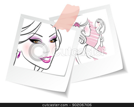 Beauty girls stock vector clipart, Beauty girls by SonneOn