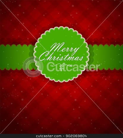 Xmas back stock vector clipart, Vector illustration of Xmas back by SonneOn