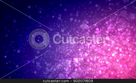 Purple abstract light background stock photo, Purple colour bokeh abstract light background. Illustration by Sergey Nivens