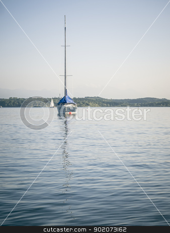 Starnberg Lake in Germany stock photo, An image of the Starnberg Lake in Germany by Markus Gann