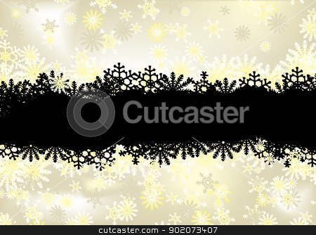 Dark modern classic stock vector clipart, Modern classical christmas background with space for your text by Michael Travers