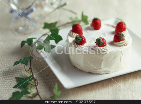 Cake gift stock photo, Cake gift by Tornelli Stefano
