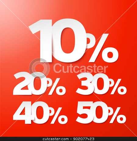 Sale percents. Vector. stock photo, Sale percents. Vector. by Godruma