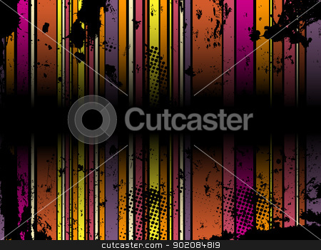 Abstract Grunge Stripe Background stock vector clipart, Abstract Grunge Stripe Background in several colors. Vector Image. by Augusto Cabral Graphiste Rennes