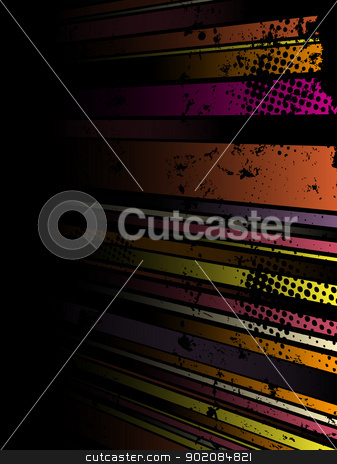 Abstract Grunge Stripe Background in several colors. stock vector clipart, Abstract Grunge Stripe Background in several colors. Vector Image. by AUGUSTO CABRAL