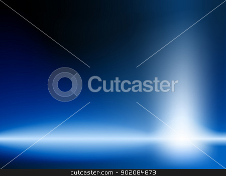 Shiny Blue Background stock vector clipart, Shiny Blue Background. Editable Vector Image by Augusto Cabral Graphiste Rennes