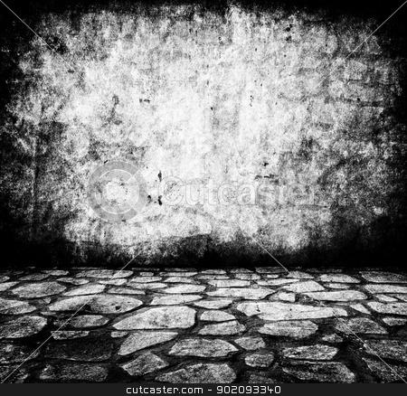 wall and floor closeup stock photo, wall and floor closeup by Vitaliy Pakhnyushchyy
